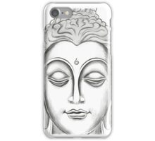 Buddha - White iPhone Case/Skin