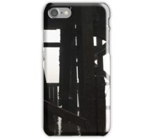 River Thames # 2 (Timbers) iPhone Case/Skin