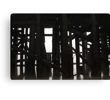 River Thames # 2 (Timbers) Canvas Print
