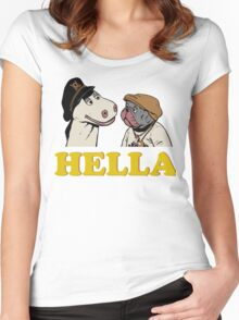Charlie and Humphrey HELLA Women's Fitted Scoop T-Shirt