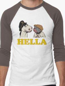 Charlie and Humphrey HELLA Men's Baseball ¾ T-Shirt