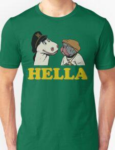 Charlie and Humphrey HELLA Unisex T-Shirt
