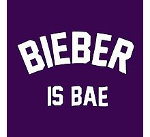 now bieber is bae Photographic Print