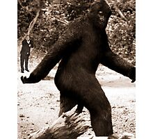 Bigfoot vs. The Rev. Daisher Rocket Photographic Print