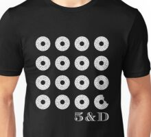 Bagels in White Unisex T-Shirt