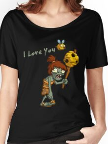 Plants vs Zombies  I Love You Women's Relaxed Fit T-Shirt
