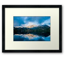 Majectic Mountains Framed Print