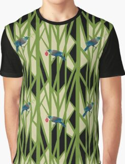 Colourful Tuis Graphic T-Shirt