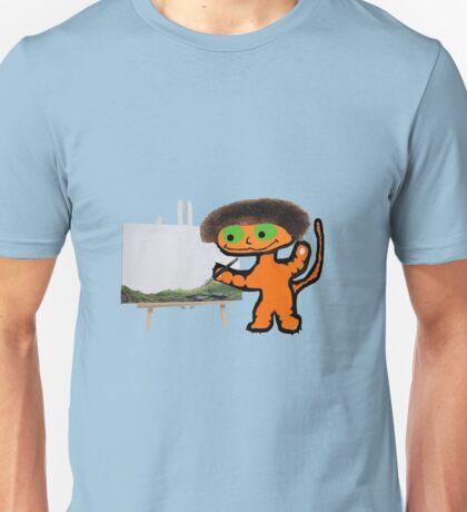 BobCat Ross Painting Unisex T-Shirt