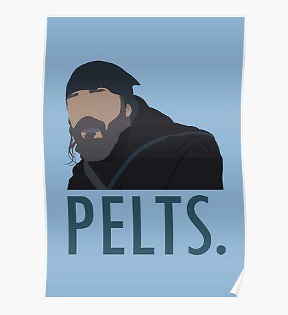 Pelts. Poster