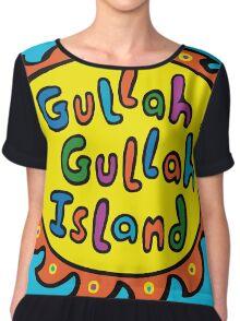 Gullah Gullah Island Chiffon Top