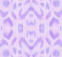 Purple Spot Pattern Sticker