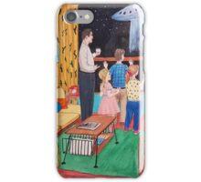 UFO in the 50s iPhone Case/Skin