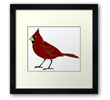 Bird clip art Framed Print