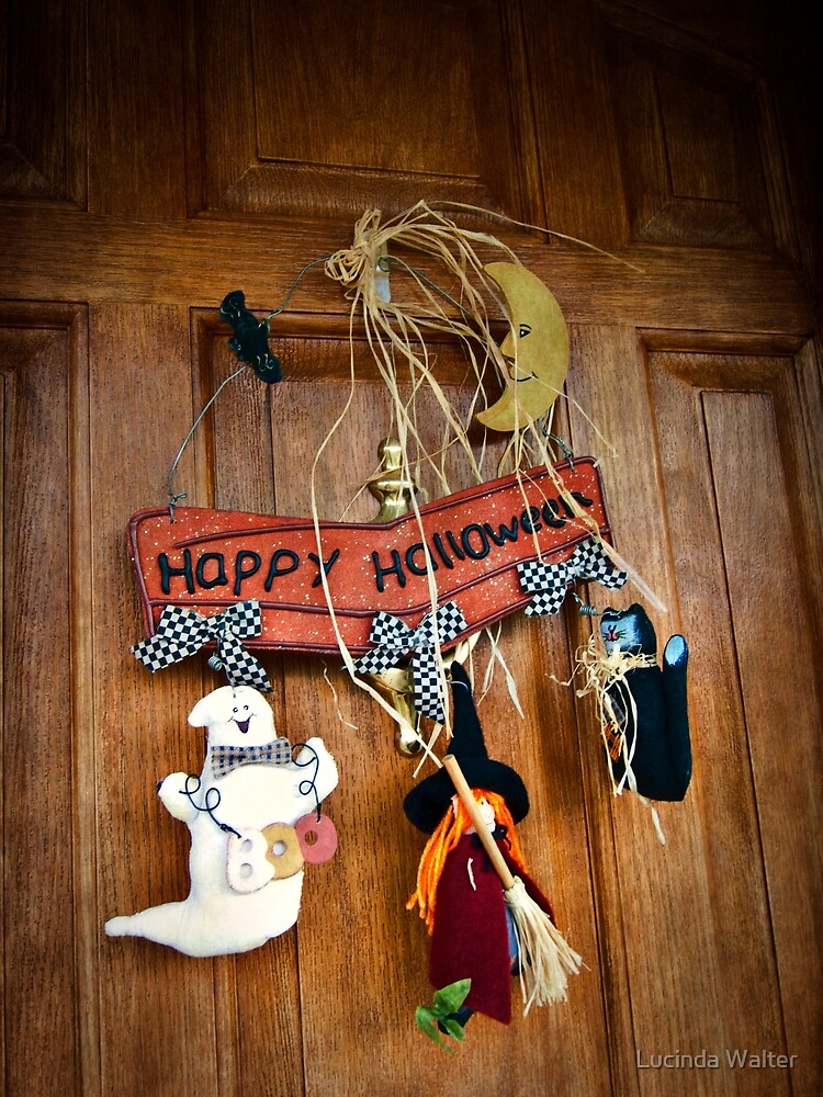A Halloween Welcome To You by Lucinda Walter