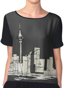 Auckland Silhouette Women's Chiffon Top