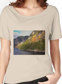 A Little Red ~ Saguenay River Women's Relaxed Fit T-Shirt