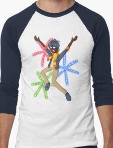 Pyro Technic Men's Baseball ¾ T-Shirt