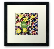 Winter Blooms Framed Print