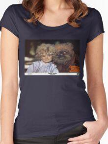 Caravan of Courage (1984) Women's Fitted Scoop T-Shirt