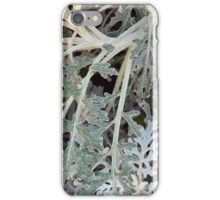 Light green leaves, natural background. iPhone Case/Skin