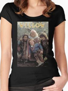 Willow (1988) the boys Women's Fitted Scoop T-Shirt
