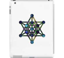 Galaxy Metatron's Cube iPad Case/Skin