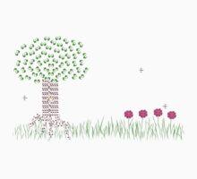 Music Tree Landscape Kids Tee
