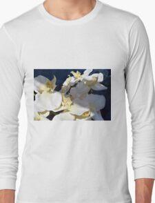 White plastic flowers. Long Sleeve T-Shirt