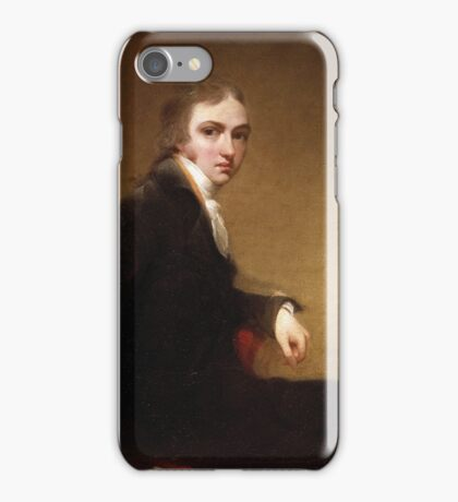 Self-Portrait-) by Sir Thomas Lawrence, PRA iPhone Case/Skin