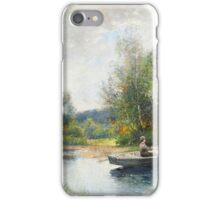 Severin Nilson  boat trip iPhone Case/Skin