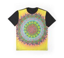 Fringe Mandala Graphic T-Shirt