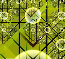Green Geometry by fractalexperience