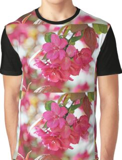 A branch of Crabapple flowers Graphic T-Shirt
