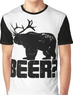 Bear Beer Graphic T-Shirt