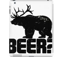 Bear Beer iPad Case/Skin