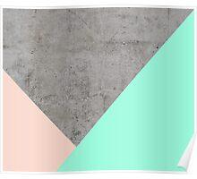 Concrete Collage Poster