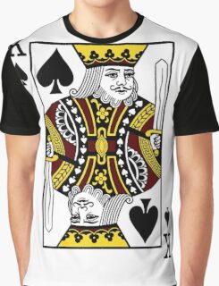 King of Spades Graphic T-Shirt
