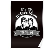 TVD. It's OK to love them both. Poster
