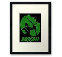 Starling City Vigilante 2 Framed Print