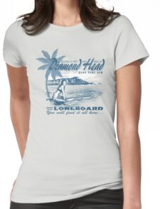 diamond head hawaii Womens Fitted T-Shirt