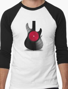 guitar  Men's Baseball ¾ T-Shirt