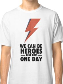 David Bowie (HEROES) Classic T-Shirt