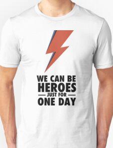 David Bowie (HEROES) Unisex T-Shirt