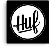 Huf Circle Canvas Print