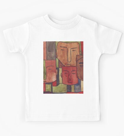 Faces of Africa - Ethnic series Kids Tee