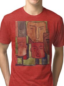 Faces of Africa - Ethnic series Tri-blend T-Shirt