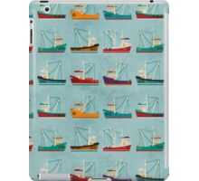 Fishing Trawlers iPad Case/Skin