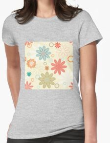 Decorative pattern background Womens Fitted T-Shirt