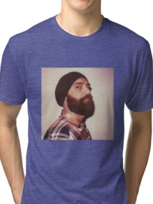 Portrait of a bearded man Tri-blend T-Shirt